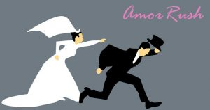 Bräutigam flüchtet vor Braut