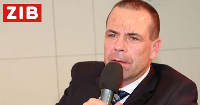Schwitzender Harald Vilimsky
