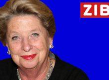 Ursula Stenzel als ZIB2-Moderatorin
