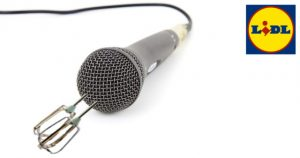 Mikrofon mit Mixer