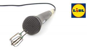 Mikrofon mit verstecktem Mixer