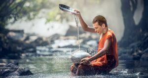 Sebastian Kurz bei Wassersegnung
