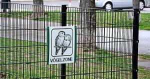 Wiens erste Vögelzone