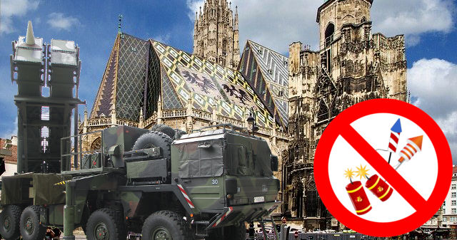 Patriot-Raketenabwehr in Wien zu Silvester