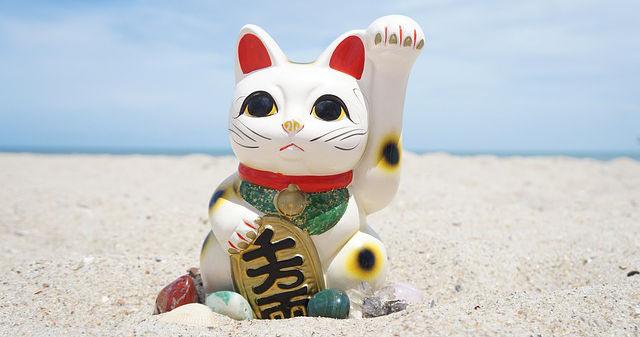 Die Glücksbringer-Winke-Katzen sind ausverkauft