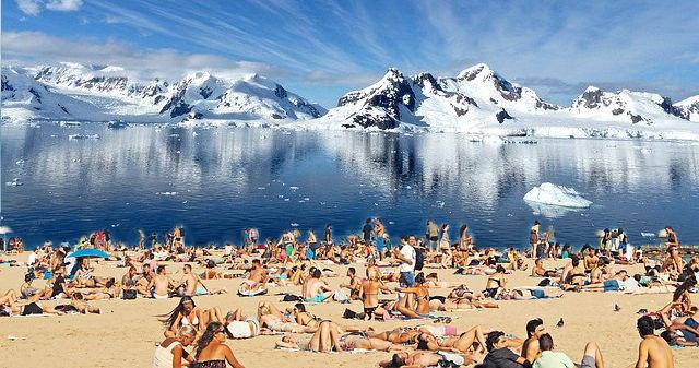 Neue Sommerdestination: Antarktis