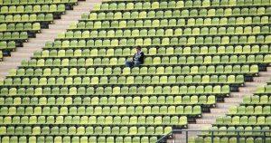 Atemberaubende Kulisse beim Spiel FC Liefering gegen FAC