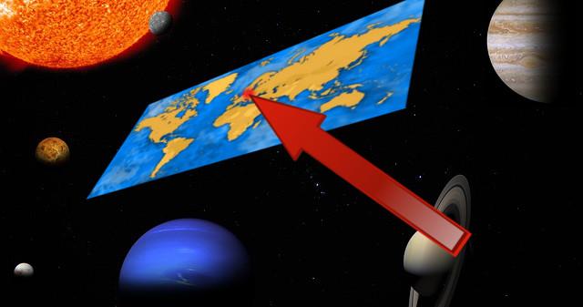 Satellitenbilder der Flat Earth Society belegen: Dreieinhalb Millionen Corona-Teilnehmer in Berlin