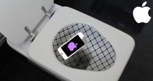 Apples iCatch schützt zuverlässig vor Handy-Malheur am WC