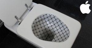 Verhindert Malheur am WC: Applec iCatch